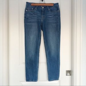 Levi's Slim Fit Stretch Ankle Jeans